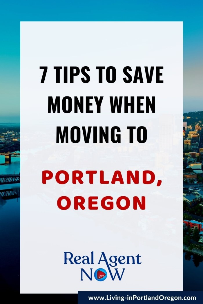 7 Money Saving Tips for moving to Portland Oregon
