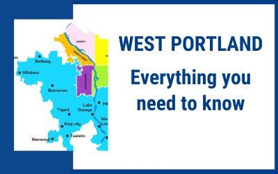West Portland Oregon