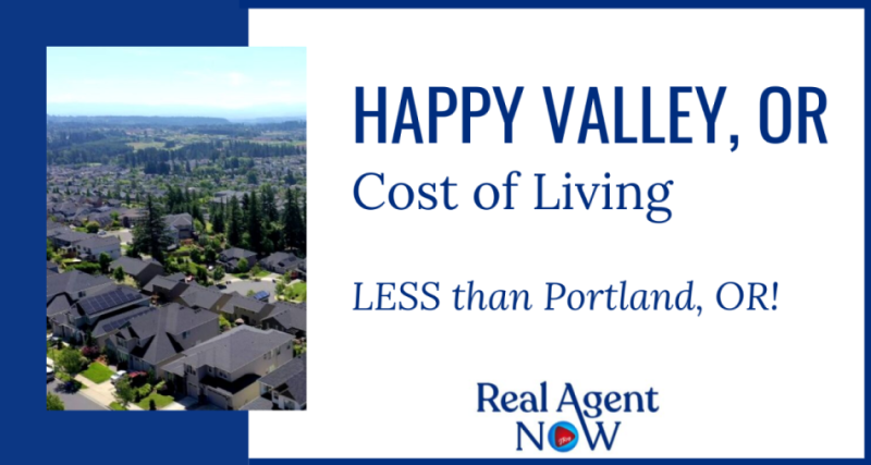 Happy Valley Oregon Cost Of Living