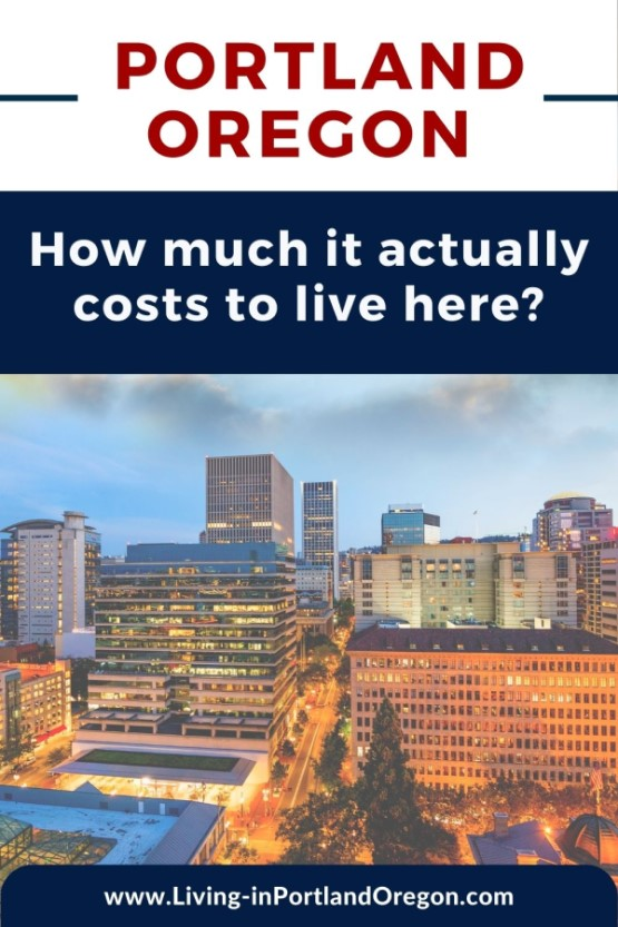 How much does it cost to live in Portland Oregon pins (2)