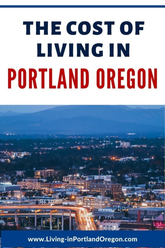 How much does it cost to live in Portland Oregon pins (3)