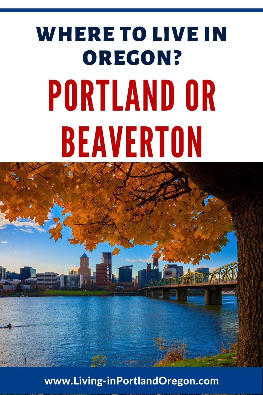 Living in Beaverton vs Portland Oregon pins (3)