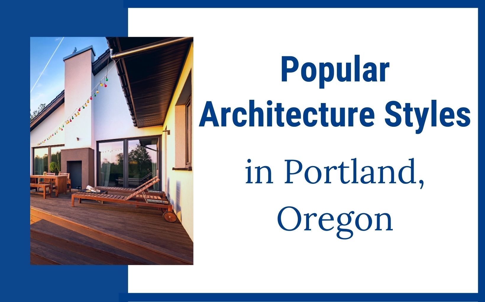Popular Architecture styles in Portland Oregon, Living in Portland Oregon (2)