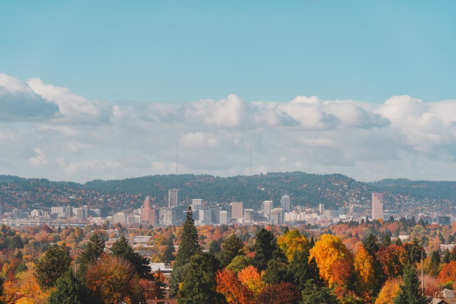 Portland OR in the fall, Cost of Living in Beaverton, PDX real estate