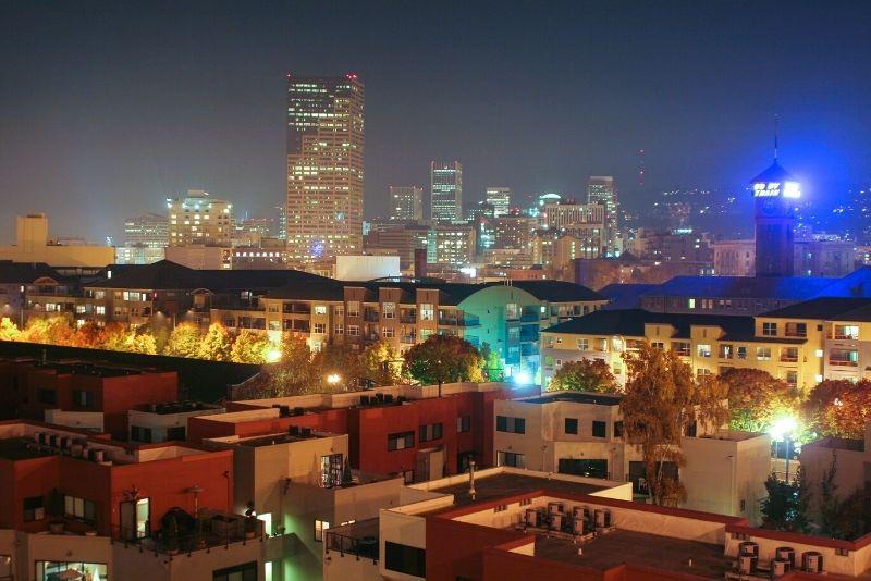 Portland at night, Living in North Portland Oregon