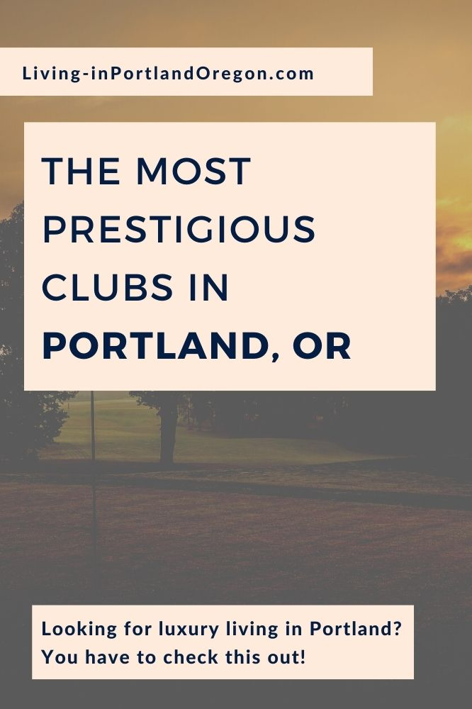 Portlands most prestigious clubs