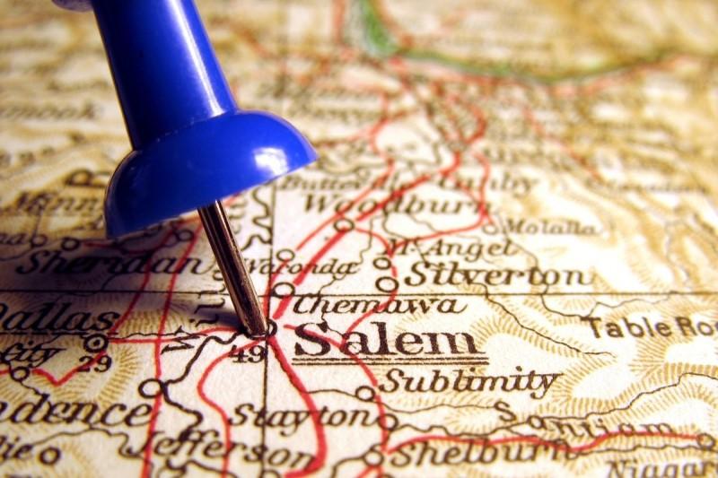 Salem Oregon on a map, pros and cons of living in Salem Oregon, PDX real estate