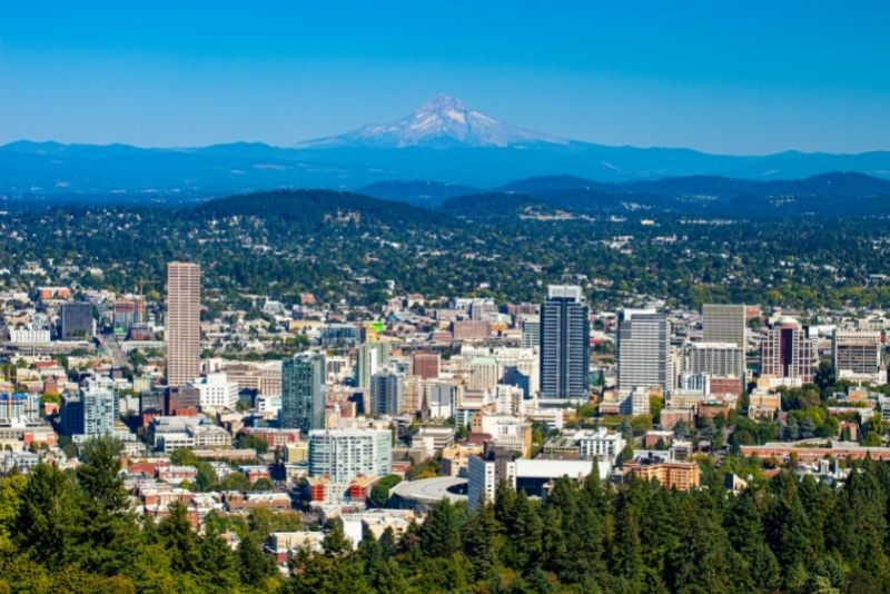 view of downtown Portland Oregon, How to find the perfect investment property in Portland Oregon