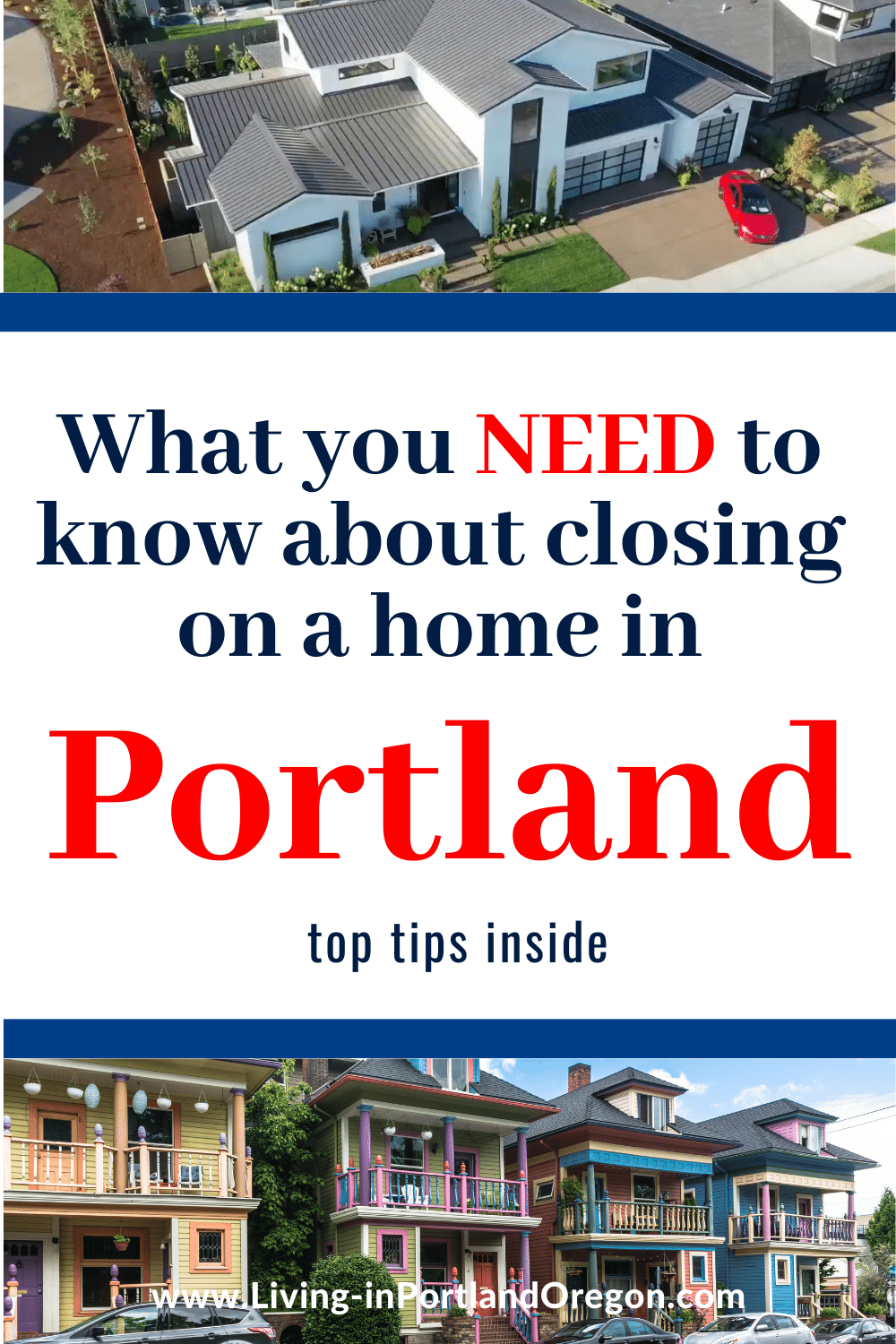 What to expect when closing on a home in Portland Oregon pins (4)