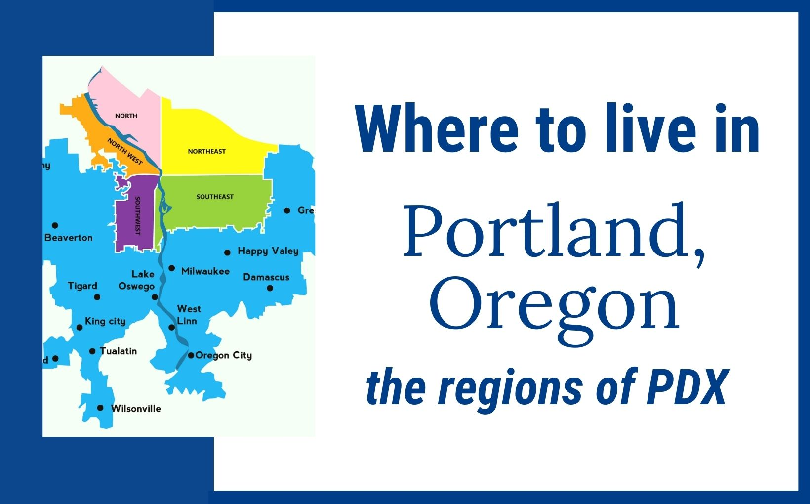 Where to live in Portland Oregon feature image, Living in Portland Oregon real estate