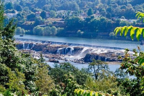 Willamette Falls, 6 best views in Portland