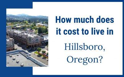 Cost of Living in Hillsboro Oregon