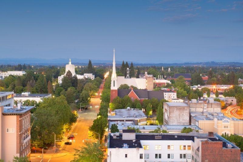 downtown Salem OR, Cost of living in Salem Oregon, Living in Portland Oregon real estate