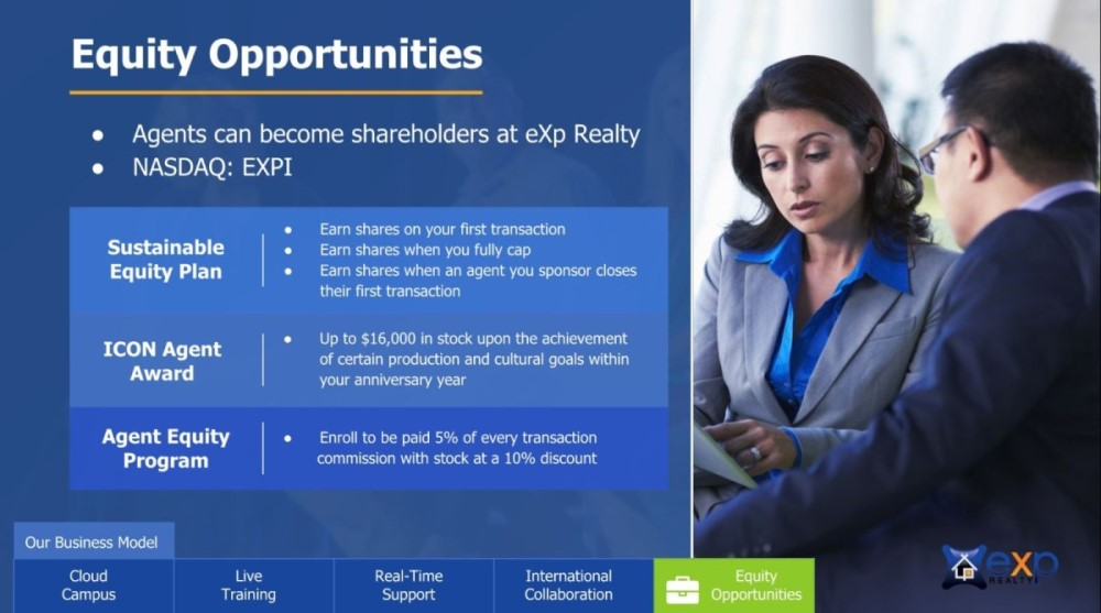 exp equity opportunities, eXp Realty fees explained, Jesse Dau of Real Agent Now