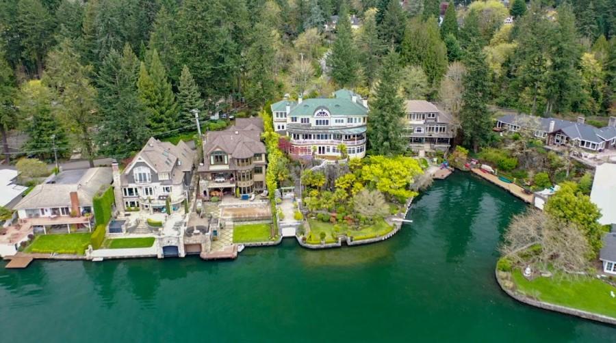 homes on lake oswego, 6 best views in Portland Oregon