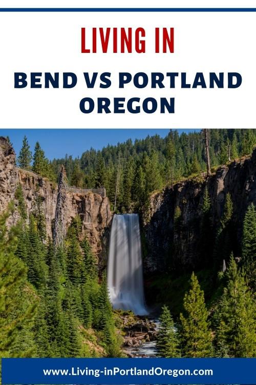 living in Bend vs Portland Oregon, Living in Portland OR real estate