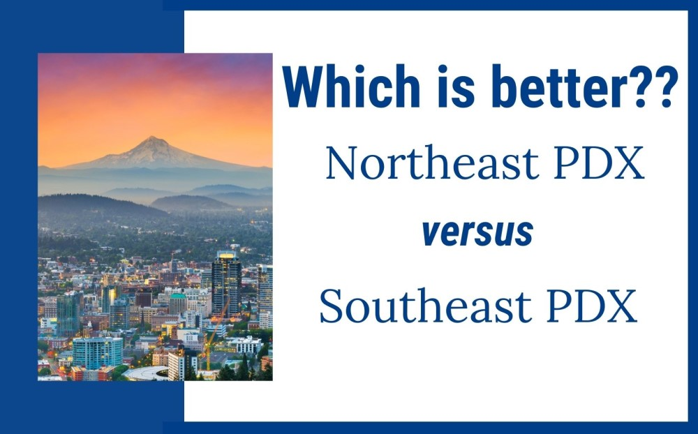 northeast versus southeast Portland Oregon feature img
