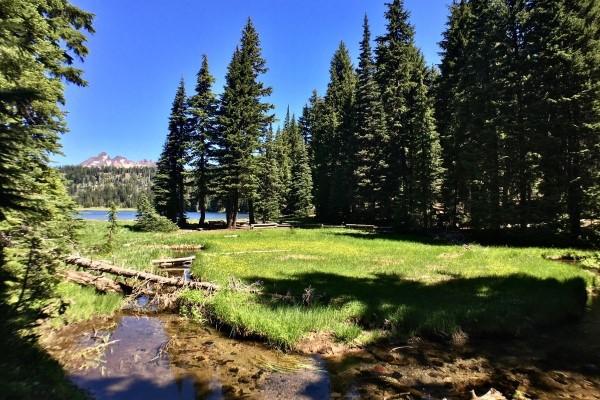 outdoor landscape in Bend OR, living in California versus Bend Oregon