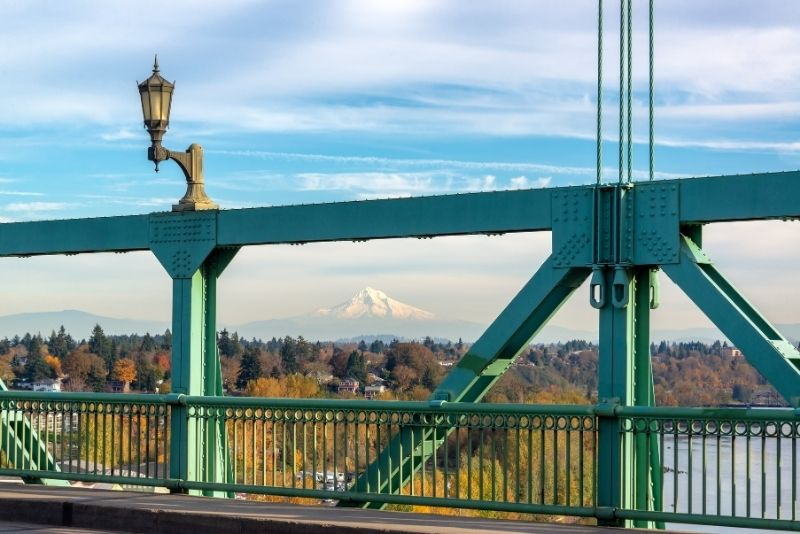 view from Portland bridge to Mt Hood, 3 things to know about Price per square foot