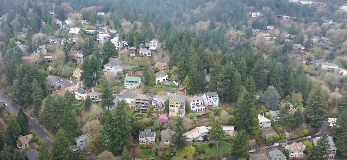 view of Arlington Heights neighborhood in Portland Oregon, Best Portland neighborhoods for families