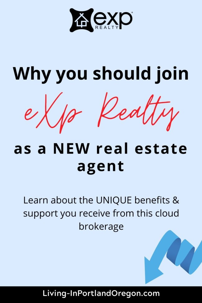 why should I join eXp Realty as a new real estate agent
