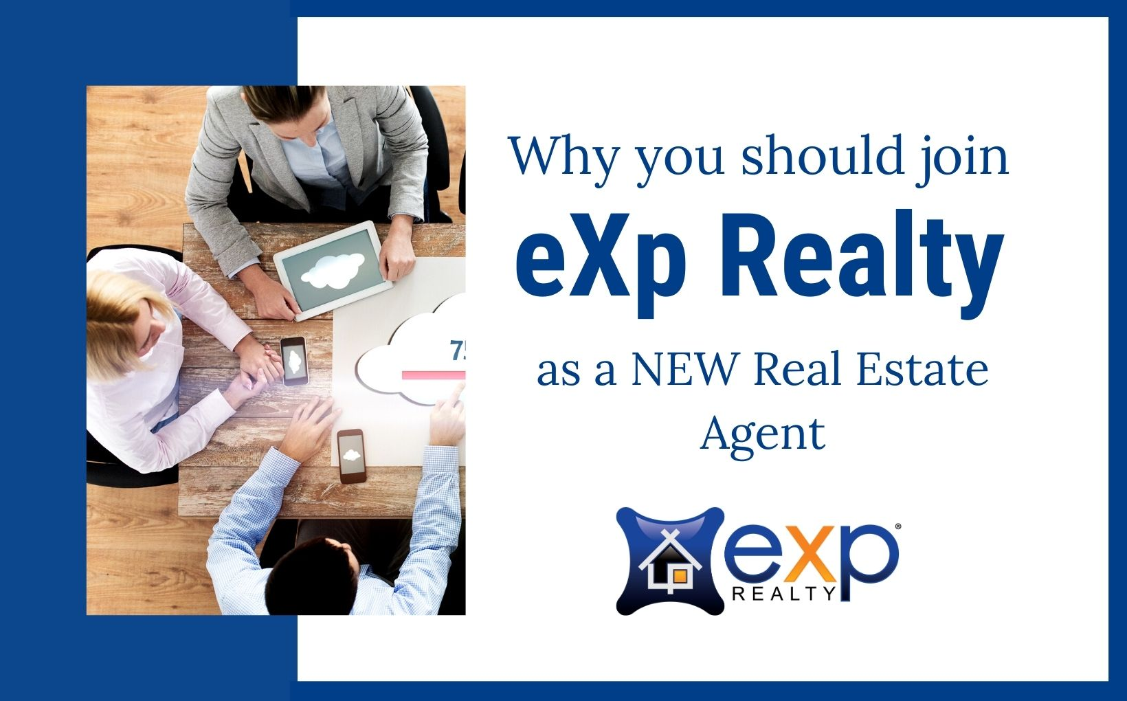 why should I join eXp Realty as a new real estate agent blog post